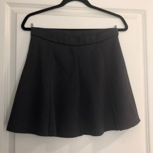 Forever 21 Contemporary Dark Grey Skater Skirt